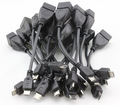 China post office free shipping+10pcs/lot Micro USB Host Cable OTG 10cm mini usb cable for tablet pc mobile phone mp4 mp5 cheap