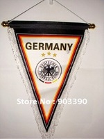Hot selling ! Soccer teams&club  hanging flag/35CM*28CM more than 11 teams in stock free shipping