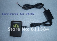 hard wired car charger tk102b support SD card and 4 bands real google link position on map free shipping