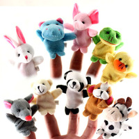free shipping Educational toys finger mini puppet toy story telling toy
