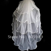 Wholesale - White &ivory  WEDDING Bridal veils   GJ-0081