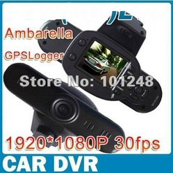 1920x1080p 30fps Full HD car camera V660/ V2000GS with 5 mega CMOS sensor Support GSP logger G-sensor H.264 Free shipping(Hong Kong)