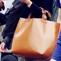 One shoulder big bags genuine leather fashion vintage fashion women bag handbag shopping bag