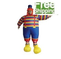 Halloween, ChristmasAdult installed the inflatable clowns apparel props cartoon clown suit