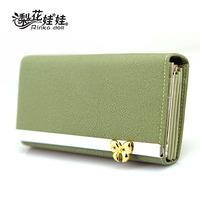 Free Shipping Pear doll wallet female bow long design women's wallet women's wallet