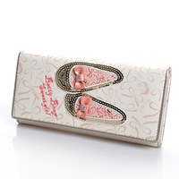 Free Shipping Betty BETTY 2012 women's long design fashion wallet a6277