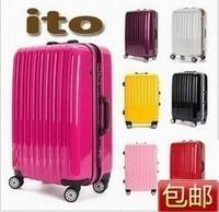 Fashion Aluminum frame aircraft wheel travel bag trolley luggage luggage 20 - 29 isatie