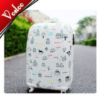 ali Fashion 20 24 inch cartoon trolley luggage bags female  briefcase limited isatie