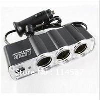 Dragging three cigarette lighter 0120 cigarette lighter USB car cigarette lighter