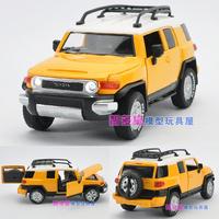 In TOYOTA cruiser acoustooptical WARRIOR quartiles door alloy car model