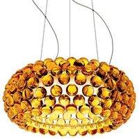 LED Bulb Modern 50cm,65cm Foscarini Caboche Ball Golden Pendant Lamp