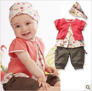Free shipping retail children baby boy girls kids character cotton