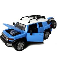 In 832 acoustooptical alloy car TOYOTA cruiser toy car model acoustooptical WARRIOR