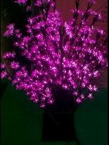5ag Led wedding lights cherry blossom tree lights192 leds 80cm heigh pink red christmas new year festival holiday lights