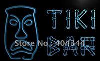 LB552- Tiki Bar Bamboo Display Mask Neon Light Sign  hang sign home decor shop crafts led sign