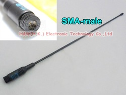 Diamond RH-771 SMA MALE Dual band Antenna for VX-7R VX-8GR VX-8DR PX-2R PX-A6 TH-2R TH-UV3R LT-6100 PLUS UV-3R PX-358 NF-669(China (Mainland))