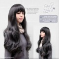 Cute Black Women Long Kanekalon Wavy Party Hair wig