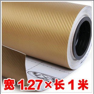 High Quanlity 3D Carbon Film Membrane Carbon Fiber Film Vinyl Car Stickers 100*127cm 4 Colors C6591A