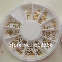 free shipping -nail decoration metal sticker