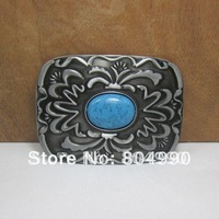 Western belt buckle with pewter finish FP-02579 brand new condition with continous stock