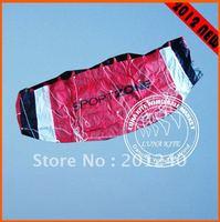 New 1.8m Parafoil Kite Dual Line Power Kite outdoor sport + Tool For Beginner LK040