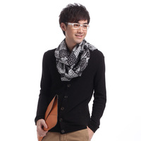 Scarf male autumn and winter thermal scarf 2012 muffler scarf day gift n002