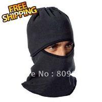 Hot New Comfortable Multi-purpose fleece hat scarf black mask headgear,outdoor sports wear,can be cap,FREE shipping