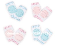 free shipping 24pcs/lot cotton baby kneepad knee Breathable protector  knee guard  kneecap