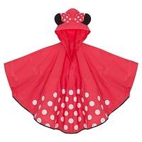 Adult female mouse red fashion cloak bicycle raincoat poncho bag