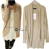 Fashion 2011 spring women's za a cape style no button knitted women's cardigan