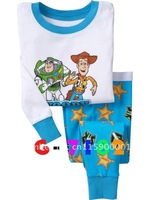 Hot sale! Toy Story / baby pajamas kids jumpsuits bodysuit kids sleepwear baby girl pyjamas 6sets/lot Free shipping