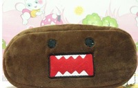 Min. Order Over 15$ ,Plush Pen Pencil BAG Pouch Case, DOMO KUN-- Coin Purses & Wallet BAG, Cosmetics Beauty BAG Case, Pouch SACK