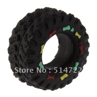 Animal Sounds X-Tire Balls Interactive Dog Toys,dog's squeaker toys, tire shape dog rubber toys