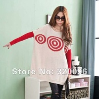 Free Shipping 2012 Autumn Maternity Clothing Fashion Loose Sweater Long design