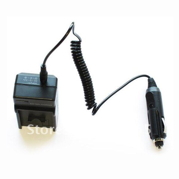 Free Shipping NB-4L AC Wall CHARGER + In-Car Charger Adapter For Canon Powershot SD1100 IS(China (Mainland))