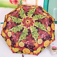 [ANYTIME] Original Japan Sanxiang Brand - Automatic Plus Size Anti-uv Fruit Platter Umbrella 106cm - Free Shipping