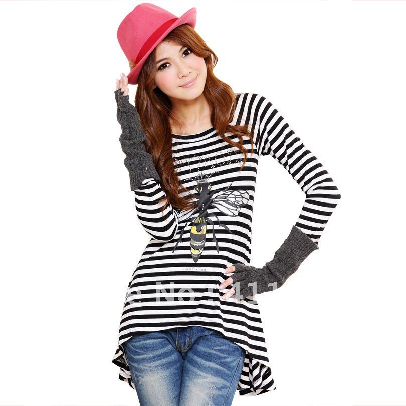 women's big plus size clothing orange long sleeve chiffon lace blouses ...