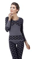 women   long johns  seamless beauty care thermal underwear women set