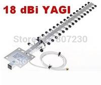 FREE SHIPPING=18 dBi 2.4 GHz Wifi Yagi Antenna RP-SMA Booster 18db Wifi / Wireless Network YAGI (RP)SMA