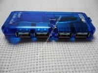 Free Shipping Quality New 4 Port Mini USB  HUB High Speed 480 Mbps