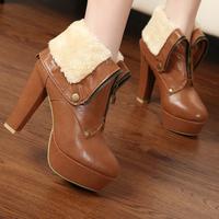 Женские ботинки flockflat s drop L015