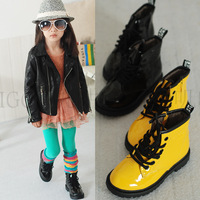 26-37 ! 4 Colors ! Retail Shoes Punk Style Cute Fashion Boots Girls Design Kids Boots Lovely Children Martin Boots