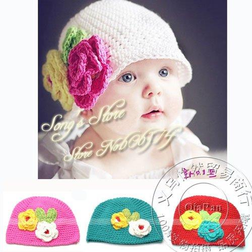 Gorros en lana para niñas - Imagui