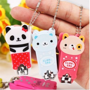 Wholesale Mixed Cute Animal Shape Design Retail Nail Clippers,Free Shipping, Animal Design With good Quality.(China (Mainland))