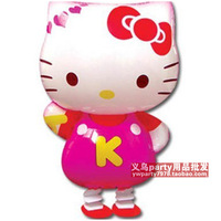 Free shipping Hello kitty balloon cartoon pet balloon film  kt cat balloon  10pcs/lot