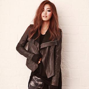 Женская куртка 2012 autumn women's sz fashion vintage short design slim heap turtleneck short jacket