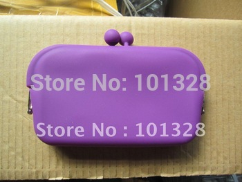 Lady's Silicone Cosmetic Case