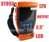 "Free shipping!!Newest 3.5"" LCD Monitor CCTV Camera Video Test / Tester"