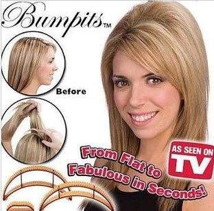2014 Rushed Sale free Shipping 5 Pcs Bumpits Big Happie Hair Volumizing Inserts Pump Beauty Tool Diy Elegant Sexy Band Braider(China (Mainland))