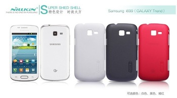 Nillkin cover for Samsung I699 (GALAXY Trend) super frosted shield +Screen protector +Retail box